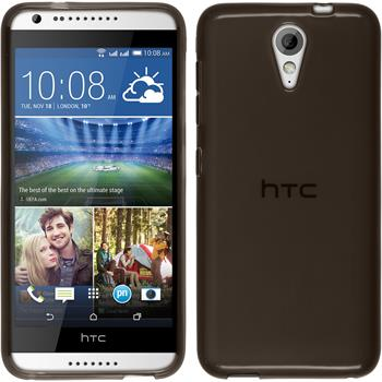 Silicone Case for HTC Desire 620 transparent black