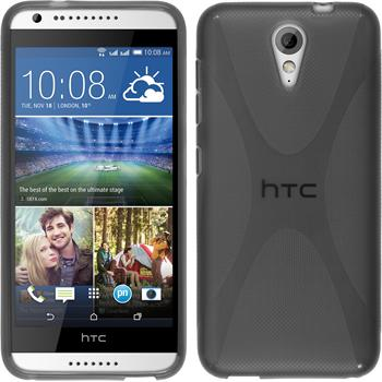 Silicone Case for HTC Desire 620 X-Style gray