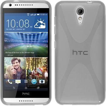 Silicone Case for HTC Desire 620 X-Style transparent