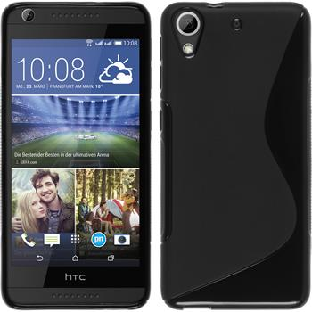 Silicone Case for HTC Desire 626 S-Style black