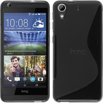 Silicone Case for HTC Desire 626 S-Style gray