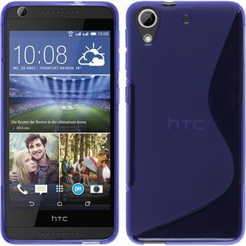 Silicone Case for HTC Desire 626 S-Style purple