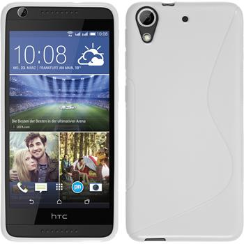 Silicone Case for HTC Desire 626 S-Style white