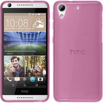 Silicone Case for HTC Desire 626 transparent pink