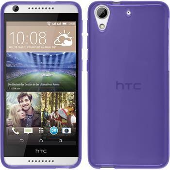Silicone Case for HTC Desire 626 transparent purple