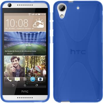 Silicone Case for HTC Desire 626 X-Style blue