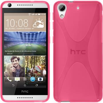 Silicone Case for HTC Desire 626 X-Style hot pink