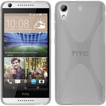 Silicone Case for HTC Desire 626 X-Style transparent