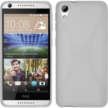 Silicone Case for HTC Desire 626 X-Style white
