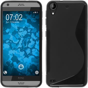 Silicone Case for HTC Desire 630 S-Style black