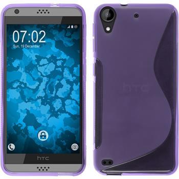Silicone Case for HTC Desire 630 S-Style purple
