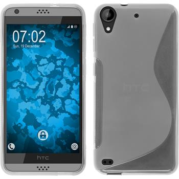 Silicone Case for HTC Desire 630 S-Style transparent