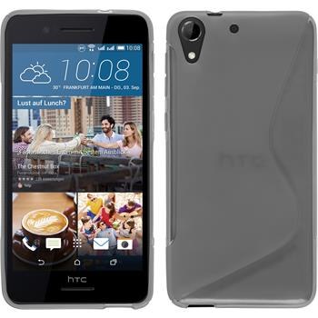 Silicone Case for HTC Desire 728 S-Style gray