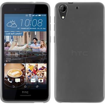 Silicone Case for HTC Desire 728 transparent white