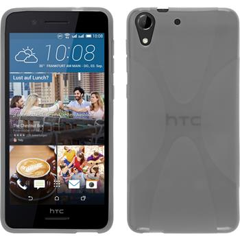 Silicone Case for HTC Desire 728 X-Style gray