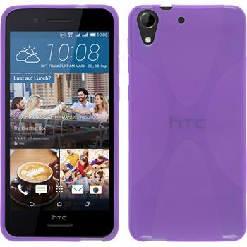 Silicone Case for HTC Desire 728 X-Style purple