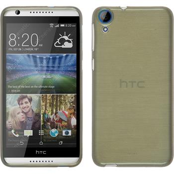 Silicone Case for HTC Desire 820 brushed gold