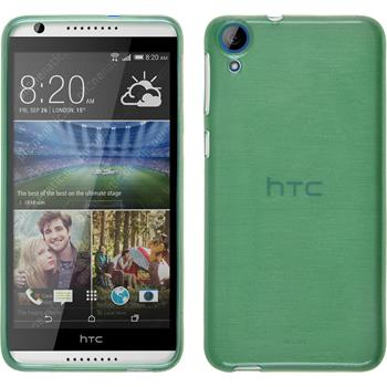 Silicone Case for HTC Desire 820 brushed green
