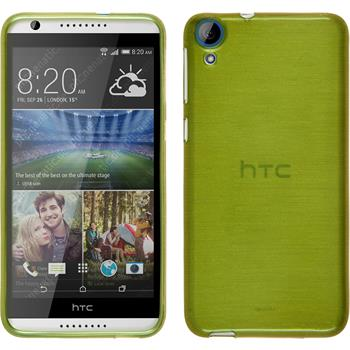 Silicone Case for HTC Desire 820 brushed pastel green