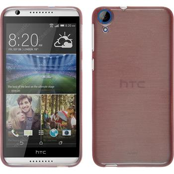 Silicone Case for HTC Desire 820 brushed pink