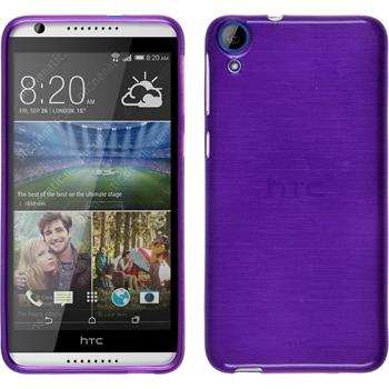 Silicone Case for HTC Desire 820 brushed purple