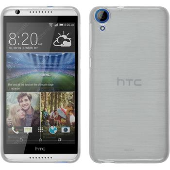 Silicone Case for HTC Desire 820 brushed white