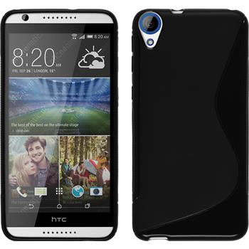 Silicone Case for HTC Desire 820 S-Style black
