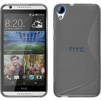 Silicone Case for HTC Desire 820 S-Style gray