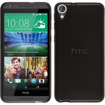 Silicone Case for HTC Desire 820 transparent black