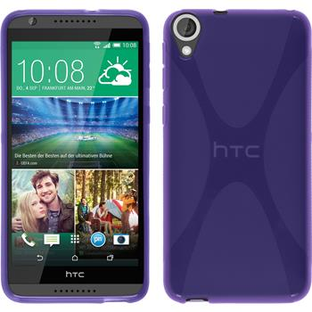 Silicone Case for HTC Desire 820 X-Style purple