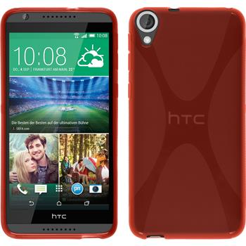 Silicone Case for HTC Desire 820 X-Style red