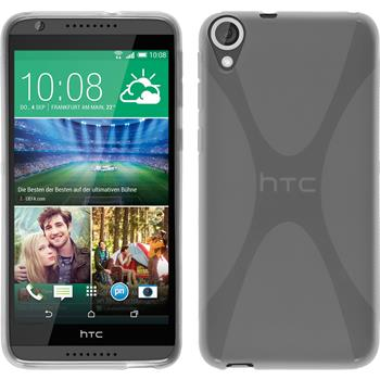 Silicone Case for HTC Desire 820 X-Style transparent