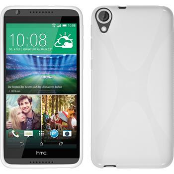 Silicone Case for HTC Desire 820 X-Style white