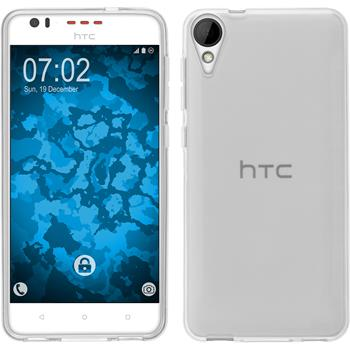 Silicone Case for HTC Desire 825 crystal-case transparent