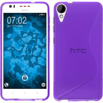Silicone Case for HTC Desire 825 S-Style purple