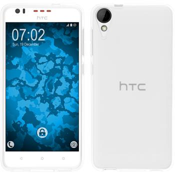 Silicone Case for HTC Desire 825 transparent Crystal Clear