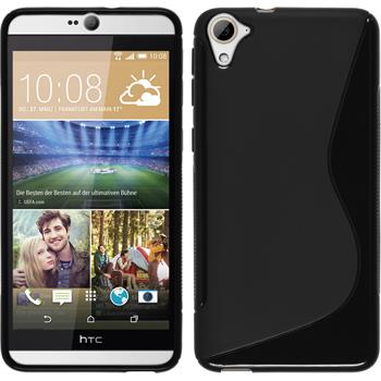 Silicone Case for HTC Desire 826 S-Style black
