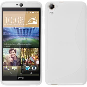 Silicone Case for HTC Desire 826 S-Style white