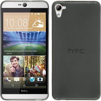 Silicone Case for HTC Desire 826 Slimcase gray