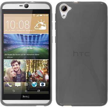 Silicone Case for HTC Desire 826 X-Style gray