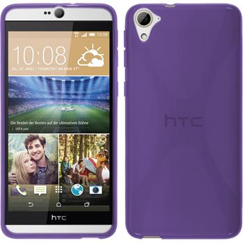 Silicone Case for HTC Desire 826 X-Style purple