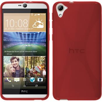 Silicone Case for HTC Desire 826 X-Style red