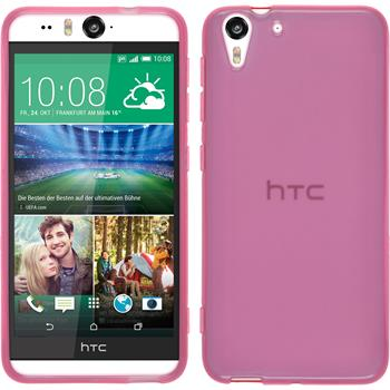 Silicone Case for HTC Desire Eye transparent pink