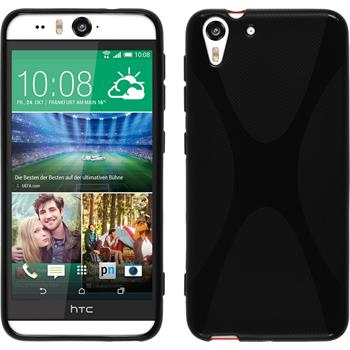 Silicone Case for HTC Desire Eye X-Style black