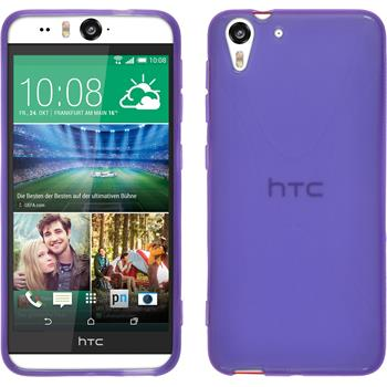 Silicone Case for HTC Desire Eye X-Style purple