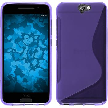 Silicone Case for HTC One A9 S-Style purple