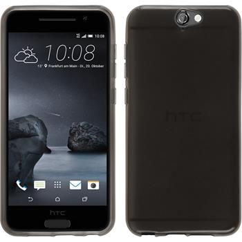 Silicone Case for HTC One A9 transparent black