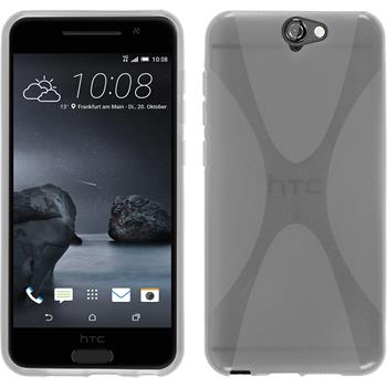 Silicone Case for HTC One A9 X-Style transparent