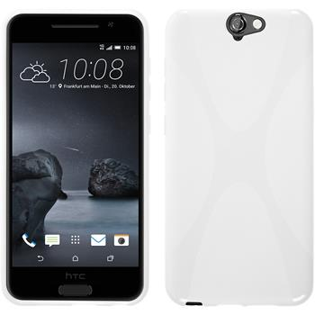 Silicone Case for HTC One A9 X-Style white