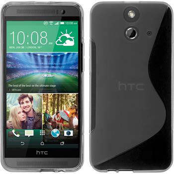 Silicone Case for HTC One E8 S-Style gray
